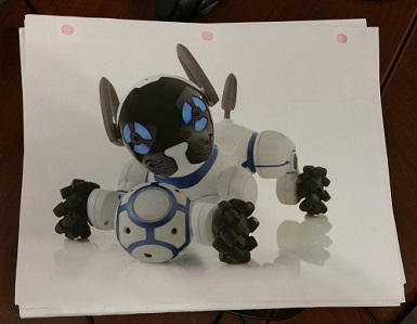 Day #2761 (Wed , Jul  26, 2017) – Chip The Robot Dog | Baby